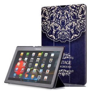 Polohovatelné pouzdro na tablet Lenovo Tab 2 A10-70 - vintage - 1