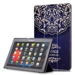 Polohovatelné pouzdro na tablet Lenovo Tab 2 A10-70 - vintage - 1/7