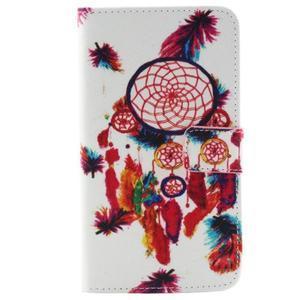 Obrázkové koženkové pouzdro na mobil LG G3 - lapač snů - 1