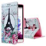 Motive koženkové pouzdro na LG G3 - Eiffelova věž - 1/6