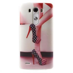 Silks gelový obal na mobil LG G3 - sexy střevíce - 1