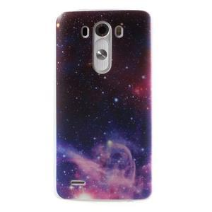 Silks gelový obal na mobil LG G3 - galaxy - 1