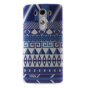 Silks gelový obal na mobil LG G3 - geo tvary - 1