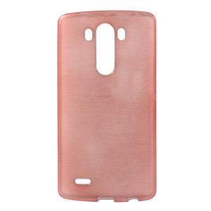 Brush gelový obal na LG G3 - růžový - 1