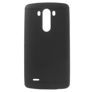 Silks gelový obal na LG G3 - černý - 1
