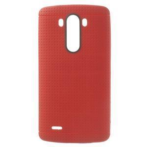 Silks gelový obal na LG G3 - červený - 1