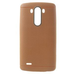 Silks gelový obal na LG G3 - oranžový - 1