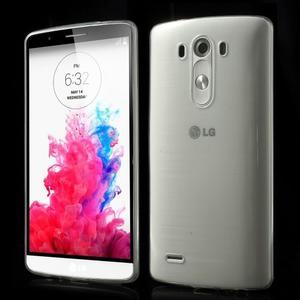 Ultratenký slim obal na mobil LG G3 - transparentní - 1