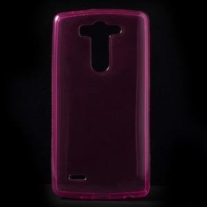 Rose ochranný gelový kryt LG G3 s - 1