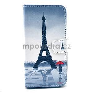 Peněženkové pouzdro na LG G3 s -  Eiffelova věž - 1