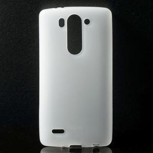 Transparentní matný gelový kryt LG G3 s - 1