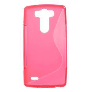 S-line rose gelový obal na LG G3 s - 1