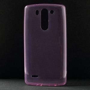 Ultra tenký slimový obal LG G3 s - rose - 1