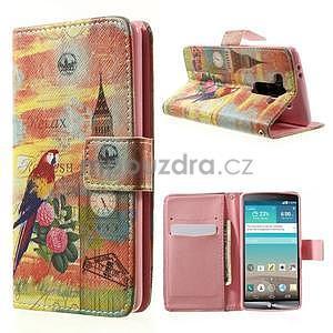 Zapínací peněženkové pouzdro pro LG G3 s - Big Ben - 1