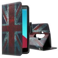 Call peněženkové pouzdro na LG G4 - UK vlajka - 1/7