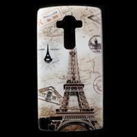 Softy gelový obal na mobil LG G4 - Eiffelova věž - 1/5