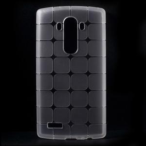 Square gelový obal na LG G4 - bílý - 1