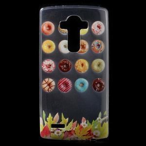 Softy gelový obal na mobil LG G4 - donuts - 1