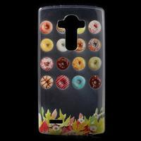Softy gelový obal na mobil LG G4 - donuts - 1/5