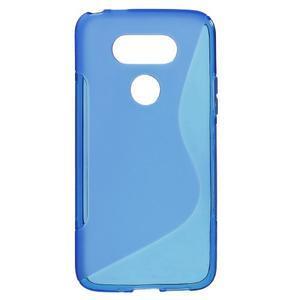 S-line gelový obal na mobil LG G5 - modrý - 1