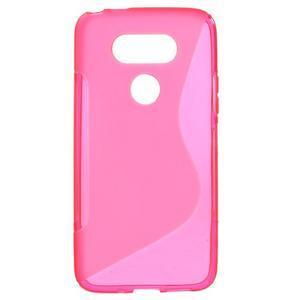 S-line gelový obal na mobil LG G5 - rose - 1