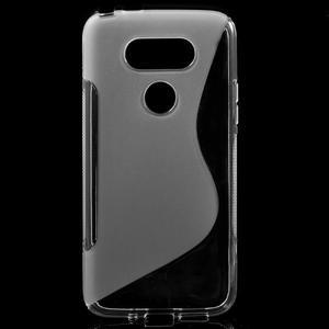 S-line gelový obal na mobil LG G5 - transparentní - 1