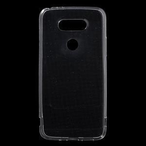 Ultrantenký slim gelový obal na LG G5 - transparentní - 1