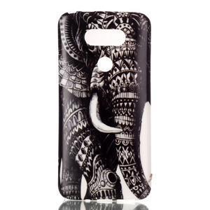 Gelový obal na mobil LG G5 - slon - 1