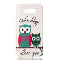 Gelový obal na mobil LG G5 - sovičky - 1/3