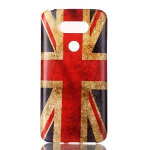 Gelový obal na mobil LG G5 - UK vlajka - 1