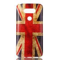 Gelový obal na mobil LG G5 - UK vlajka - 1/3