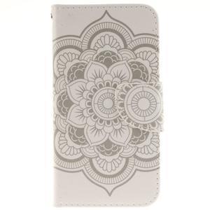 Obrázkové koženkové pouzdro na LG G5 - mandala - 1