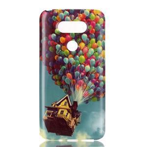 Gelový obal na mobil LG G5 - vznášející se balónky - 1
