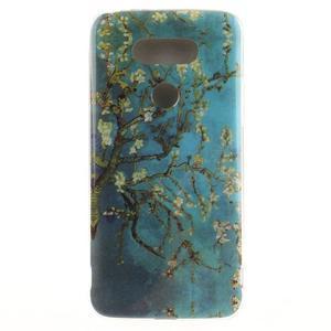 Softy gelový obal na mobil LG G5 - kvetoucí strom - 1
