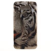 Softy gelový obal na mobil LG G5 - bílý tygr - 1/5