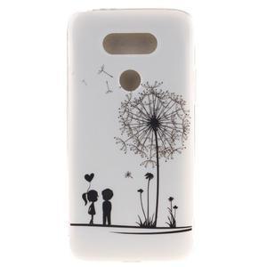 Softy gelový obal na mobil LG G5 - láska - 1