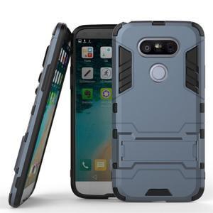 Odolný kryt na mobil LG G5 - šedomodrý - 1
