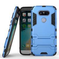 Odolný kryt na mobil LG G5 - světlemodrý - 1/3
