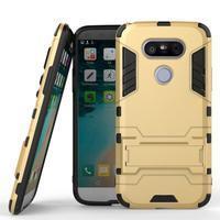 Odolný kryt na mobil LG G5 - zlatý - 1/6