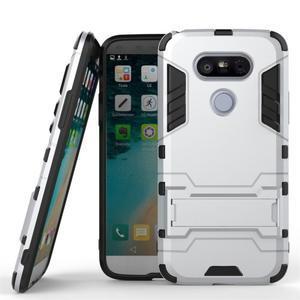 Odolný kryt na mobil LG G5 - stříbrný - 1
