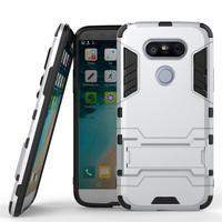 Odolný kryt na mobil LG G5 - stříbrný - 1/3