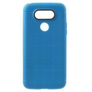 Rubby gelový kryt na LG G5 - modrý - 1