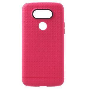 Rubby gelový kryt na LG G5 - rose - 1