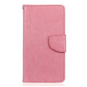 Lees peněženkové pouzdro na LG G5 - růžové - 1