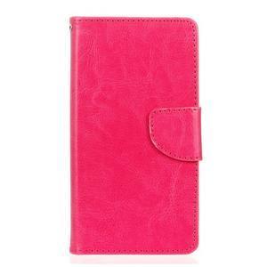 Lees peněženkové pouzdro na LG G5 - rose - 1