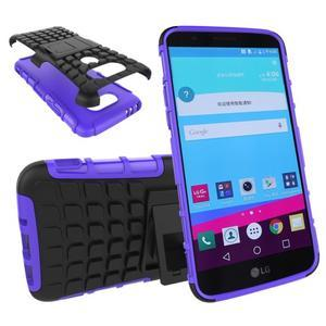 Outdoor odolný obal na mobil LG G5 - fialový - 1