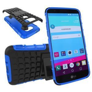 Outdoor odolný obal na mobil LG G5 - modrý - 1