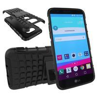 Outdoor odolný obal na mobil LG G5 - černý - 1/2
