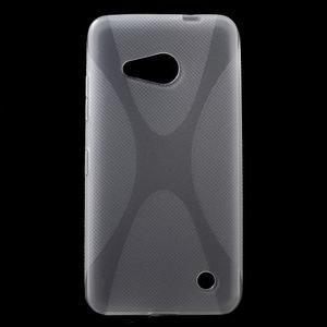 X-line gelový obal na Microsoft Lumia 550 - transparentní - 1