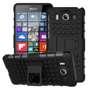 Outdoor odolný kryt na mobil Microsoft Lumia 950 - černý - 1